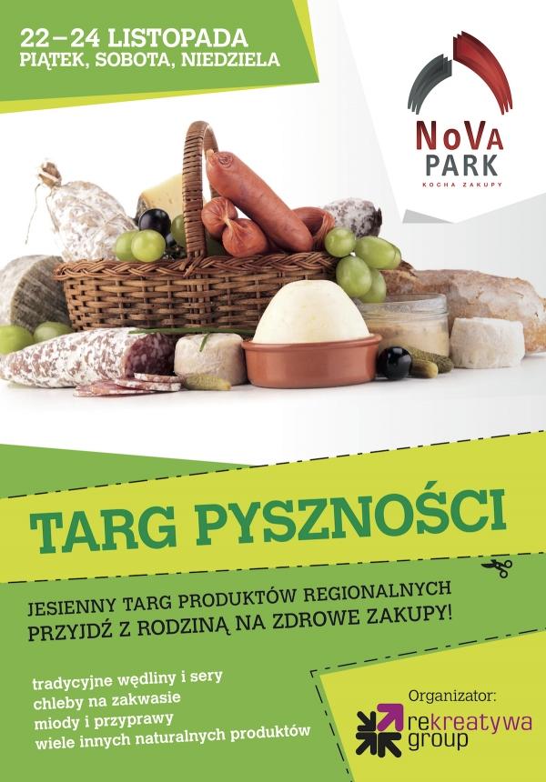 NOVA PARK JARMARK PLAKAT listopad