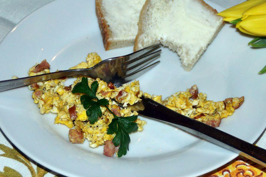 jajecznica w stylu PRLu