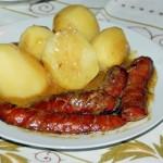 kiełbasa w sosie musztardowym (1)