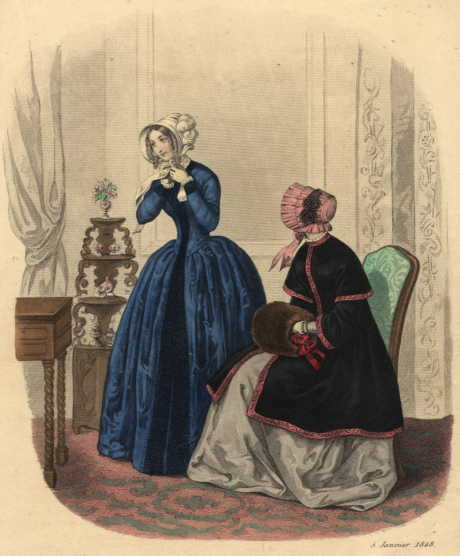 Fashion_Plate_La_Mode_1848