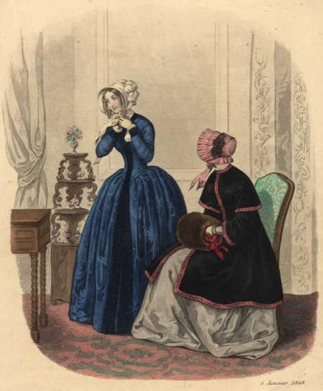 Fashion_Plate_La_Mode_1848