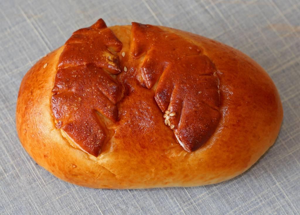 kulebiak z farszem z grzybów