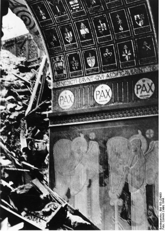 Monte Cassino, Basilika, Zerstörungen