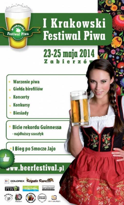 Krakowski Festiwal Piwa_plakat