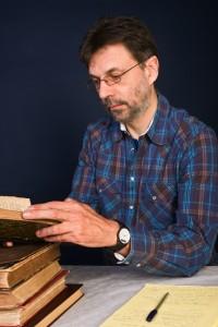 Professor at work