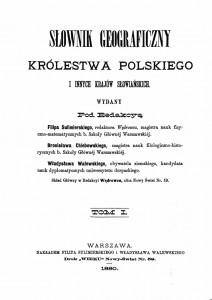 Karta_tytułowa_Słownika_geograficznego_Królestwa_Polskiego_i_innych_krajów_słowiańskich