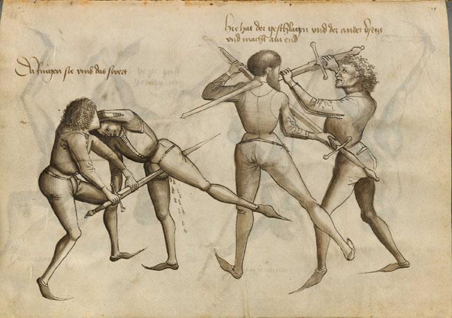 """""""… swego nie znacie"""" czyli krótko o europejskich sztukach walki."""