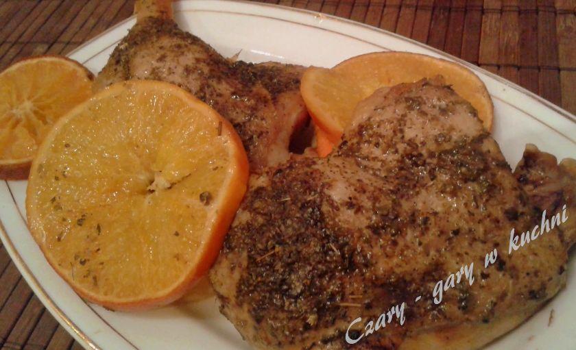 przepis na udka kaczki z pomarańczami