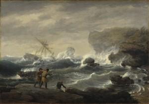 Brooklyn_Museum_-_Shipwreck_-_Thomas_Birch_-_overall