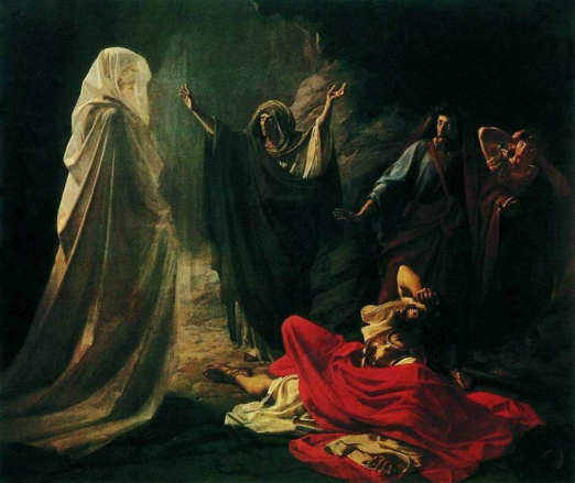 Witch_of_Endor_(Nikolay_Ge)
