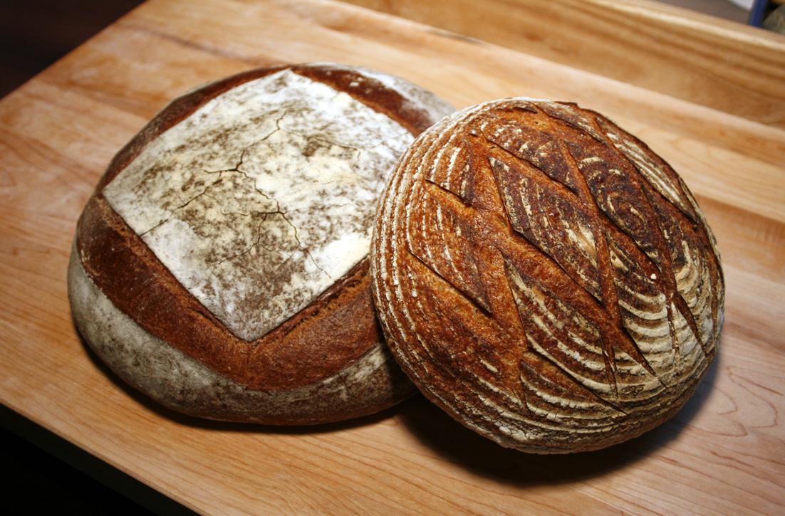 chleb razowy na zaczynie