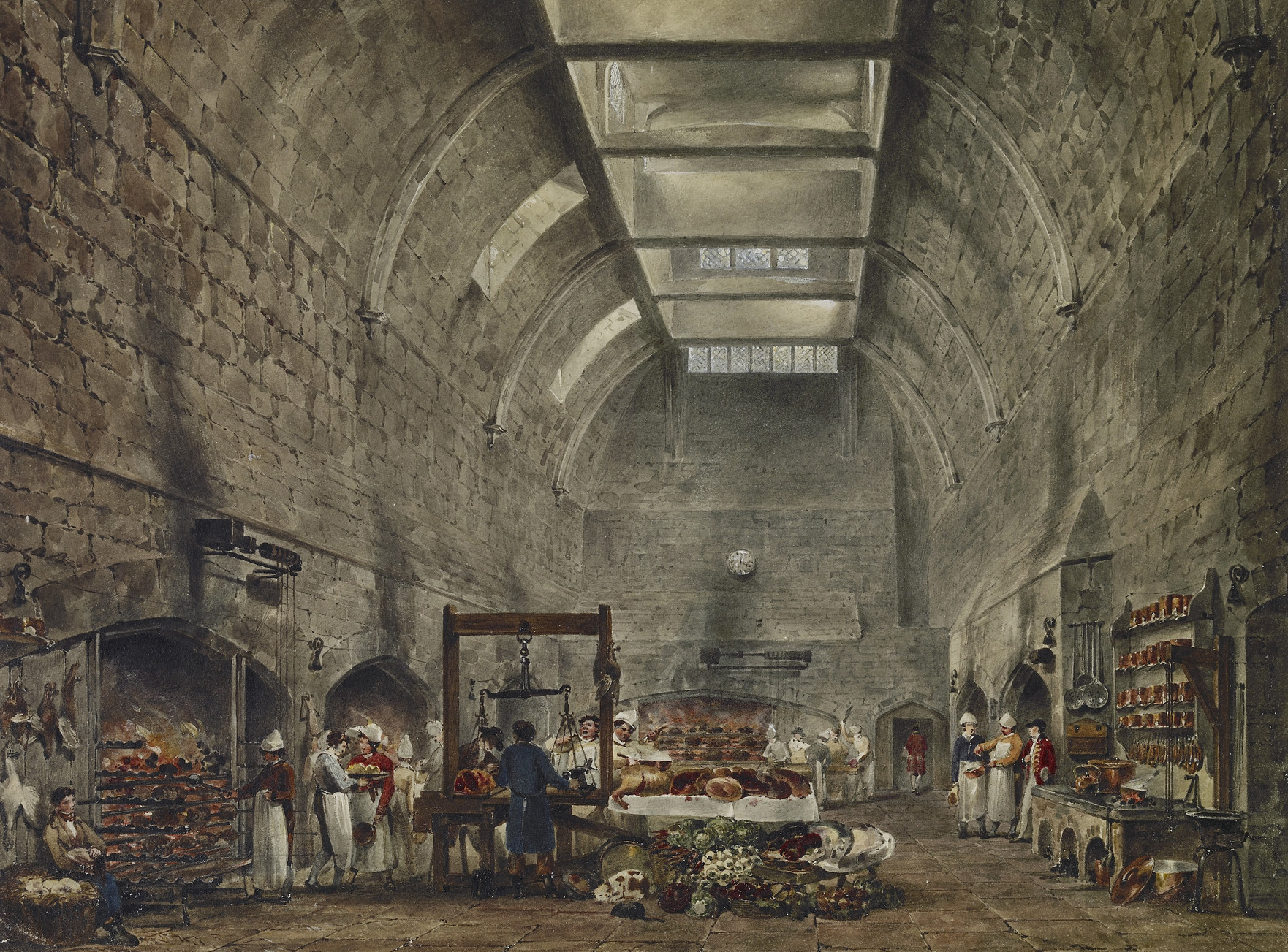 The Kitchen at Windsor Castle