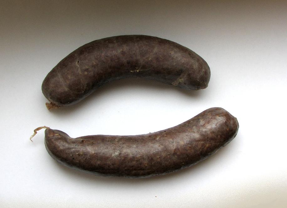 kaszanka z grill z dodatkami