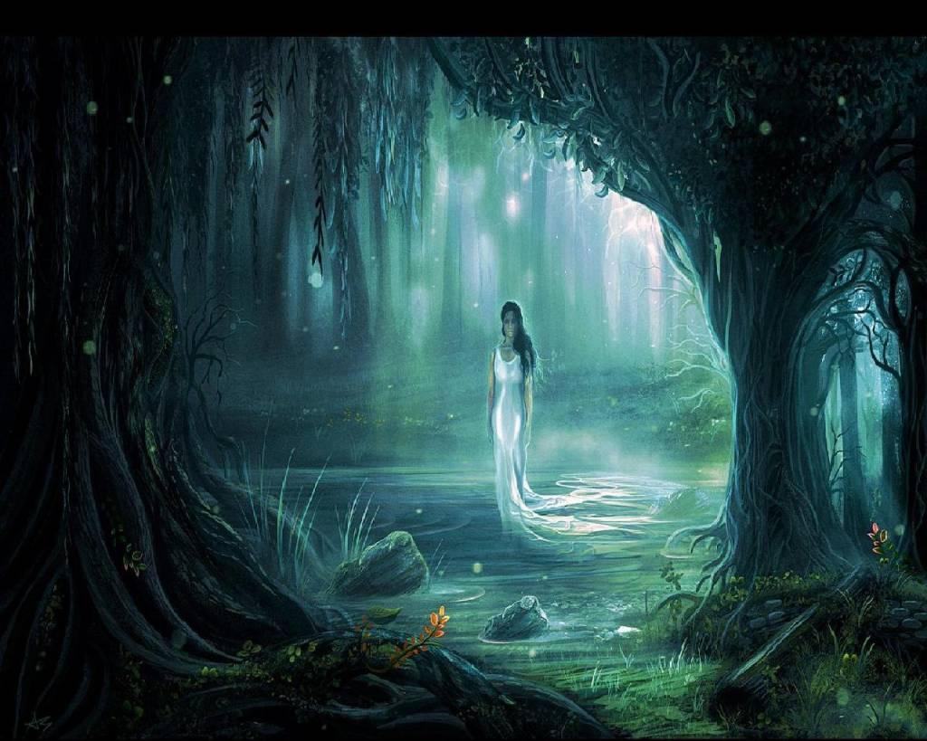 spirit of the swamp water