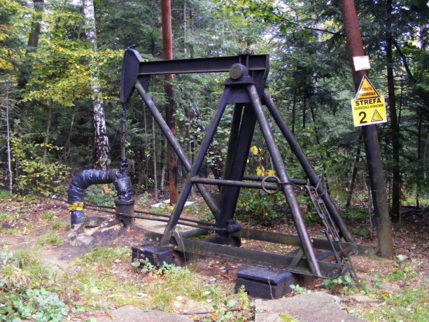 bóbrka ropa naftowa
