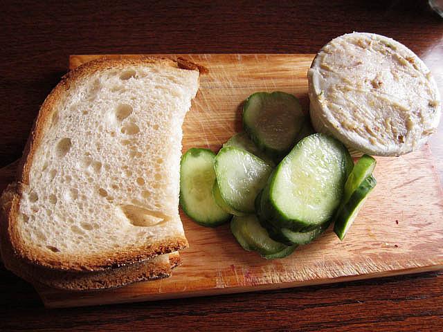 tradycyjna, polska kanapka
