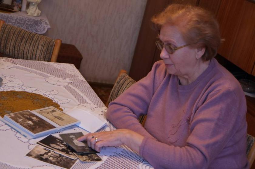 Pani Barbara (77 lat) wspomina czasy okupacji