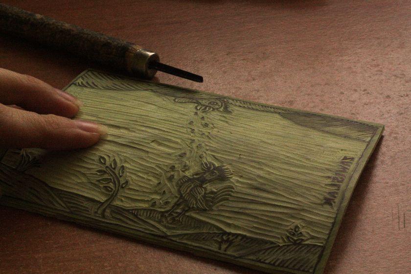 Linoryt to jedna z najstarszych technik
