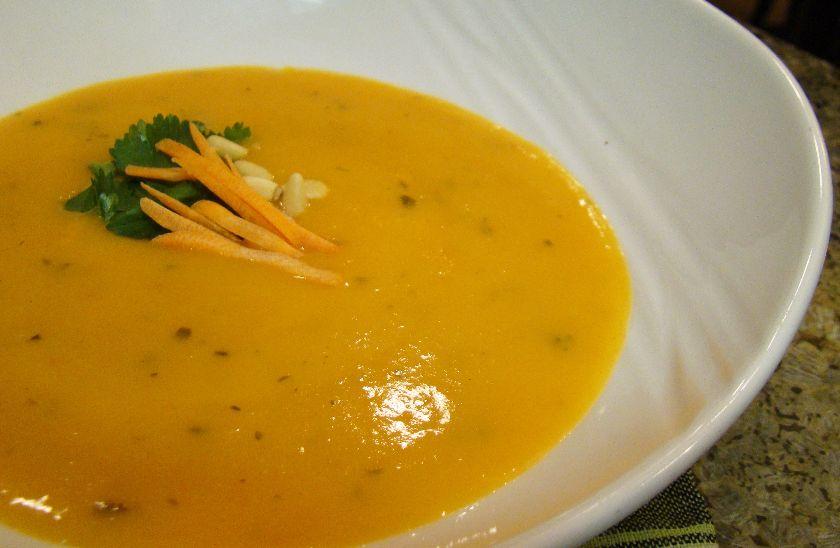 zupa z marchewki i przypraw