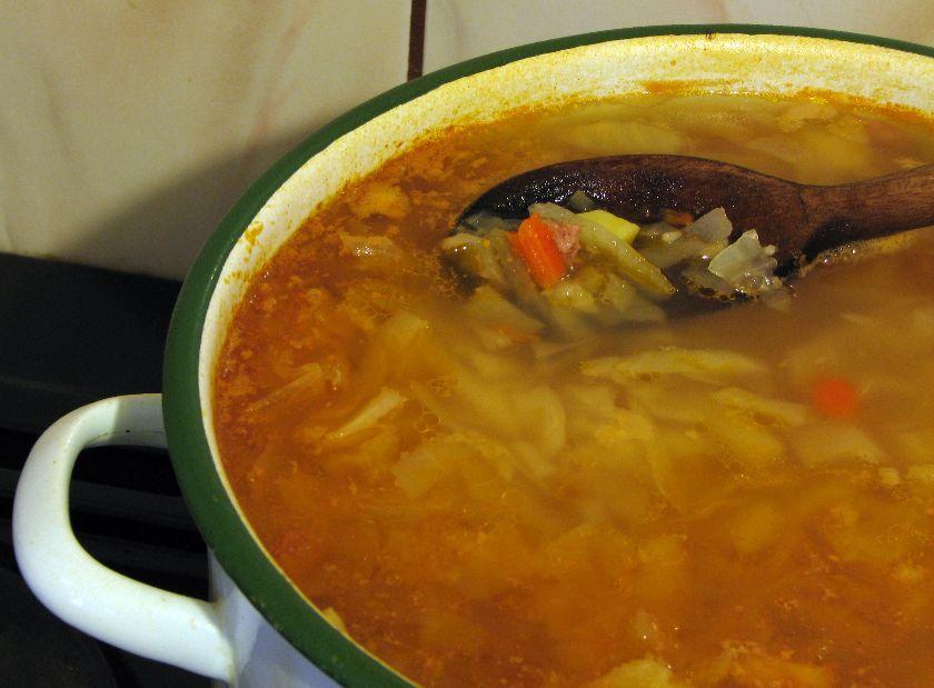 Zupa na półgęsku