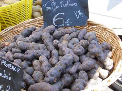 Ziemniaki czarne czyli truflowe