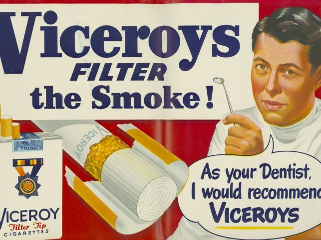 Stara reklama papierosów