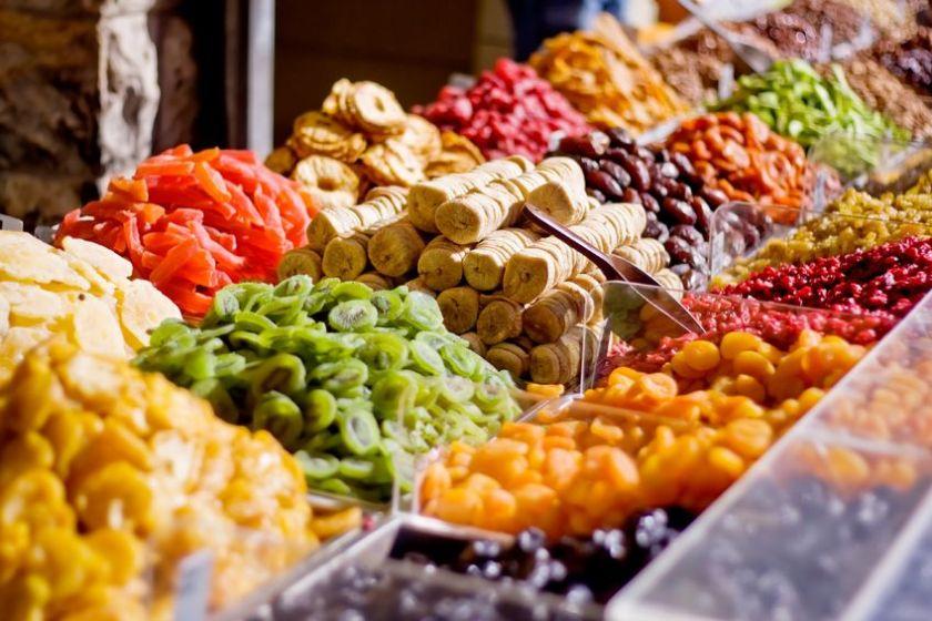 Suszone owoce są źródłem witamin