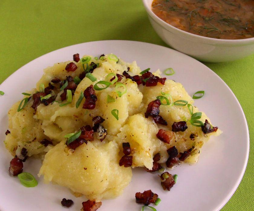 Prażucha jest tradycyjnym daniem na Kujawach
