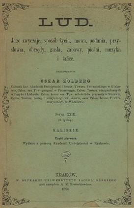 Oskar Kolberg wybitny etnograf