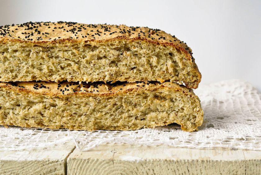 Chleb z dodatkiem perzu