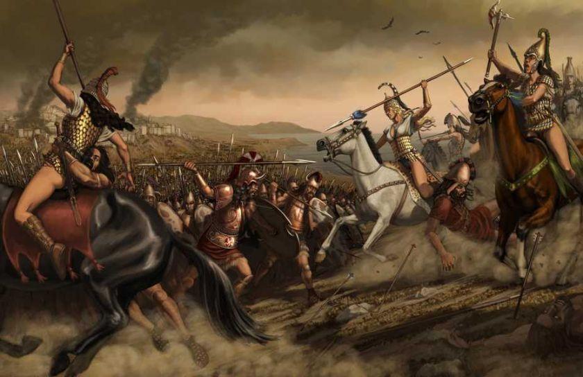 W mitologii słowiańskiej pojawiają się Amazonki