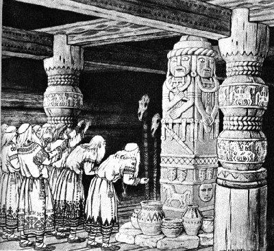 Świętowit w Sadze o Jarlu Broniszu