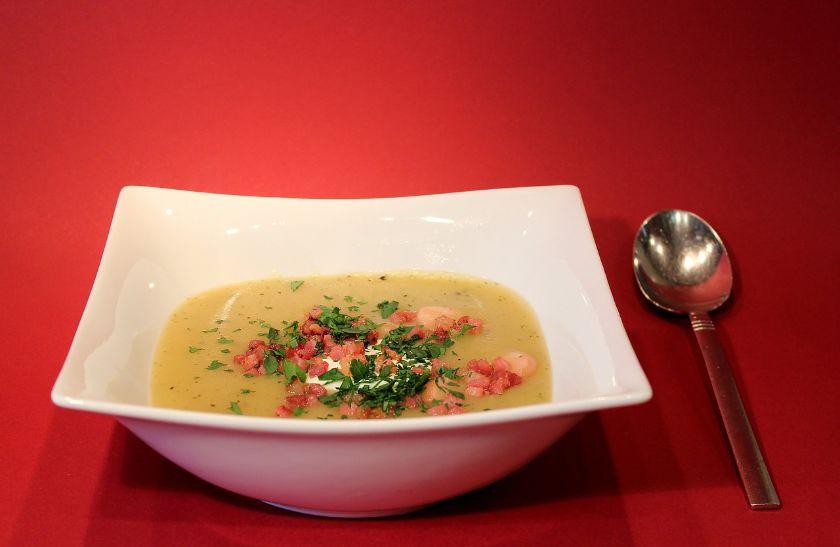 zupa krem z ziemniaków