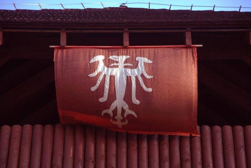 Flaga Grodu w Grzybowie