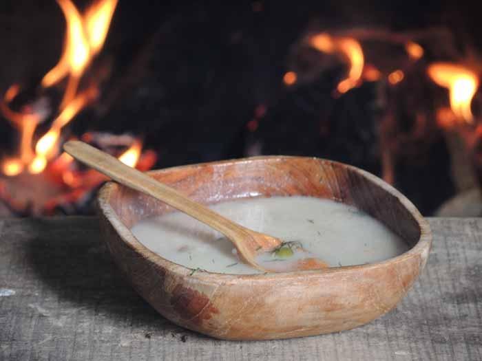 Kuchnia dawnych Słowian: biała polewka