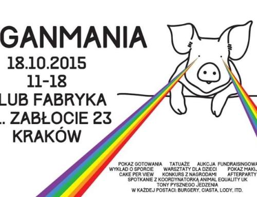 Festiwal Veganmania już po raz trzeci w Krakowie!